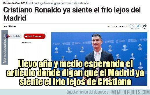 1092630 - Cristiano ya siente el frío... ¿y el Madrid desde cuándo lo siente?