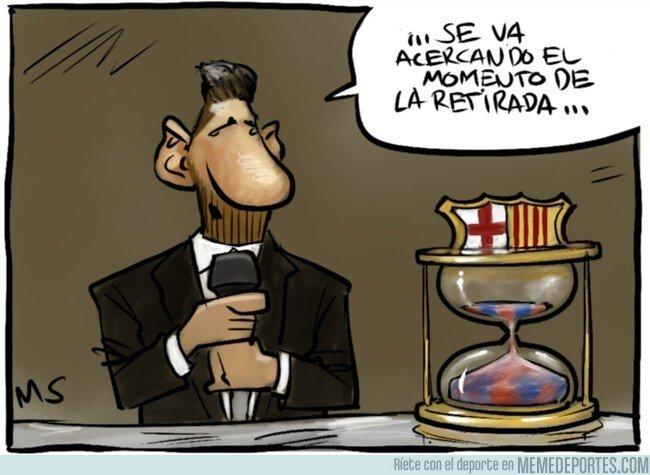 1092678 - Messi deja entrever que su adiós está cerca, por @yesnocse