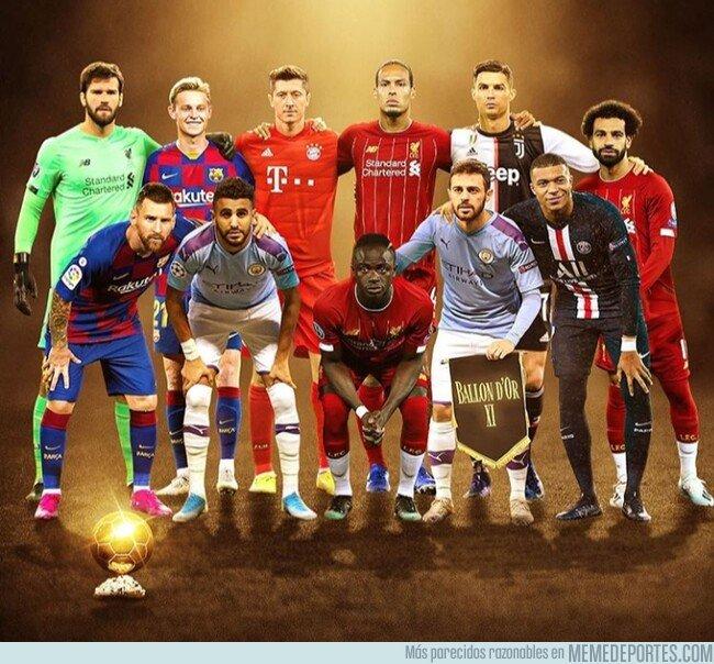 1092688 - Los 11 mejores futbolistas del planeta según el Balón de Oro, por @433