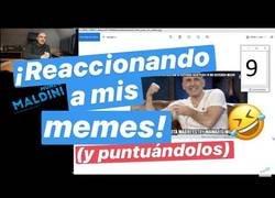Enlace a Brutal: Maldini sube un vídeo a su canal reaccionando a sus memes y la mayoría son de Memedeportes