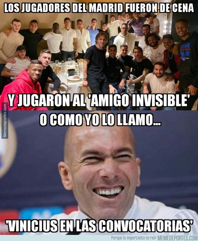 1092715 - En casa de Zidane, al amigo invisible se le llama de otra manera