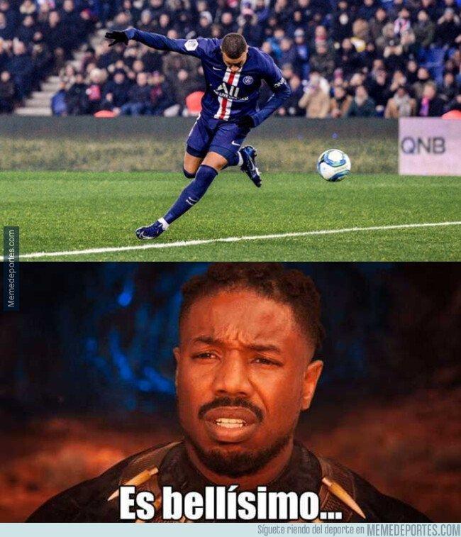 1092721 - Tremendo golazo que se inventó Mbappé frente al Nantes