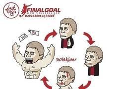 Enlace a El ciclo de Solskjaer que hace que siempre esté a salvo, por @justtoonit_th