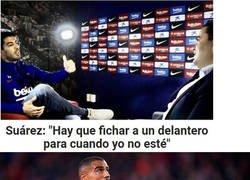 Enlace a Luis Suárez es un insensible...