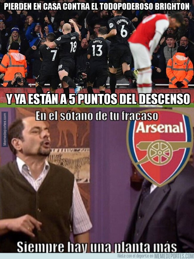 1092798 - El Arsenal no levanta cabeza