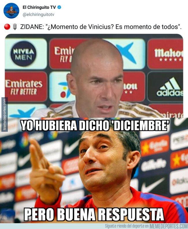 1092807 - Valverde y Zidane pueden aconsejarse en sus respuestas vacías