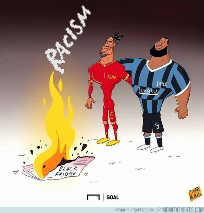 1092810 - Stop Racismo, por @goalglobal