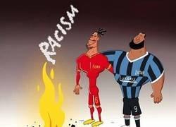 Enlace a Stop Racismo, por @goalglobal