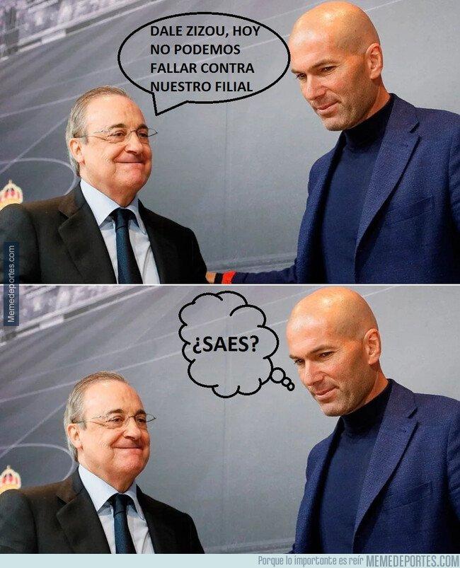 1092835 - Zidane está en su mundo