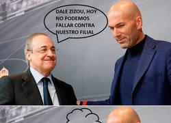 Enlace a Zidane está en su mundo