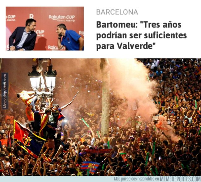 1092848 - Un motivo de celebración para los culés