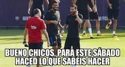 Enlace a La madurada táctica de Valverde con la que Messi y Suárez se salieron