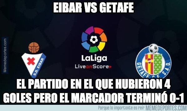 1092954 - Eibar vs Getafe y el VAR protagonistas