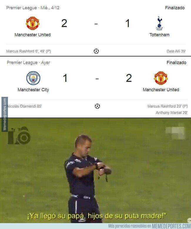 1092960 - El united se ha despachado a Mourinho y Guardiola en menos de 4 días.
