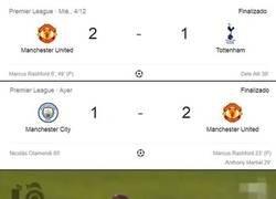 Enlace a El united se ha despachado a Mourinho y Guardiola en menos de 4 días.