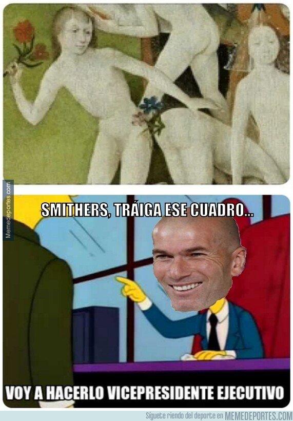 1093029 - A Zidane le gusta un cuadro...