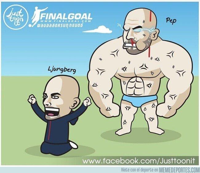 1093096 - Ljungberg gana su primer partido, pero el siguiente no será nada fácil, por @justtoonit_th