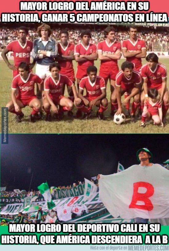 1093105 - La rivalidad de estos dos equipos colombianos