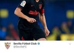 Enlace a Cachondeo en Twitter por como el Sevilla le ha plagiado descaradamente la equipación al Atleti