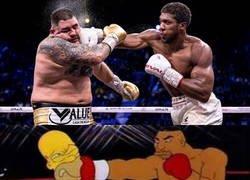 Enlace a Los Simpson ya predijeron el AJ vs Ruiz Jr.