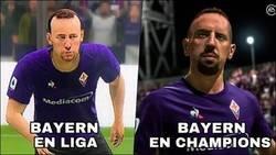 Enlace a Bayern en liga y champions
