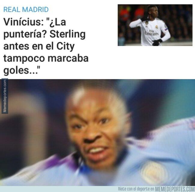 1093299 - Sterling al ver que Vinicius se ha comparado con él