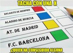 Enlace a Todos son risas hasta q te das cuenta de q Malakito de  Memphis y Aladino de Murcia, tienen las mismas Champions q el At. Madrid y el Barça estos últimos 4 años