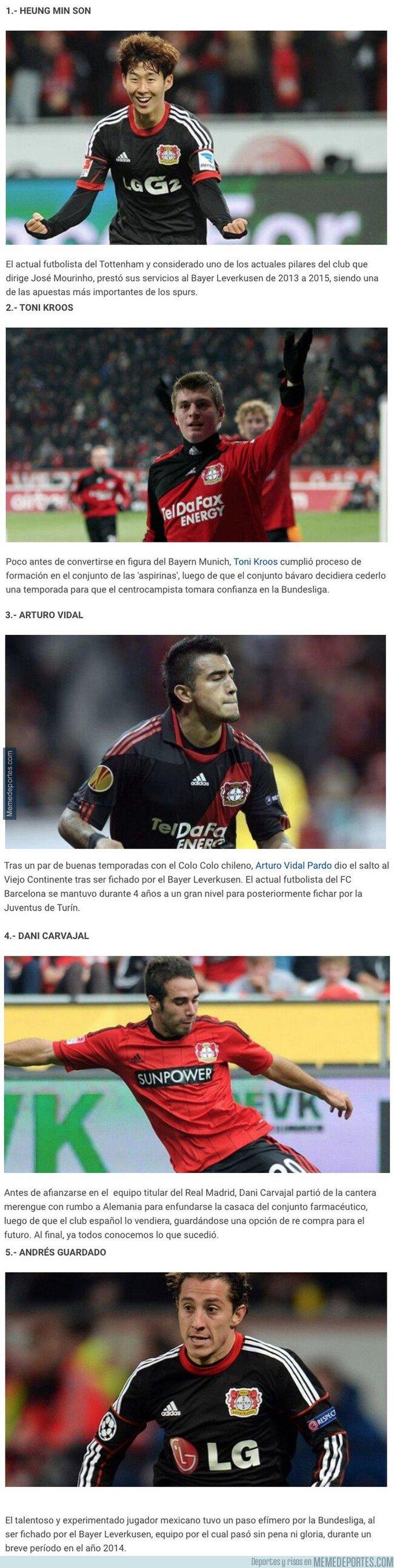 1093374 - 5 cracks de la actualidad que no recordabas que jugaron en el Bayer Leverkusen