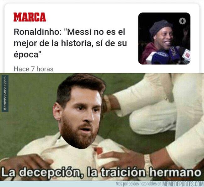 1093405 - Messi ha sido traicionado por su predecesor