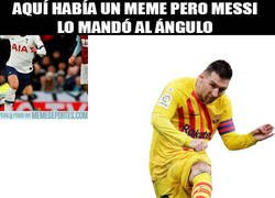 Enlace a Messi y su manía
