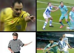 Enlace a La dos varas de medir del árbitro del Real Sociedad-Barça