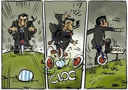 Enlace a El Barça tropieza antes del clásico, por @yesnocse