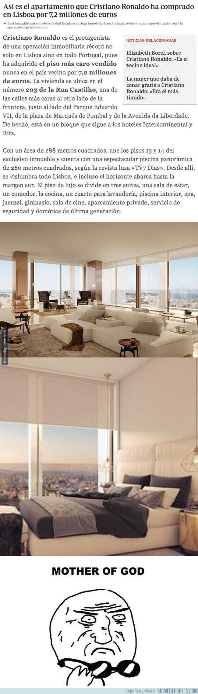 1093697 - Así es el apartamento que Cristiano Ronaldo ha comprado en Lisboa por 7,2 millones de euros