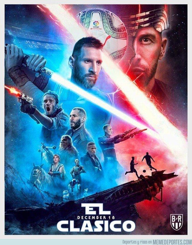 1093776 - El Clásico, versión Star Wars, por @brfootball