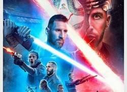 Enlace a El Clásico, versión Star Wars, por @brfootball