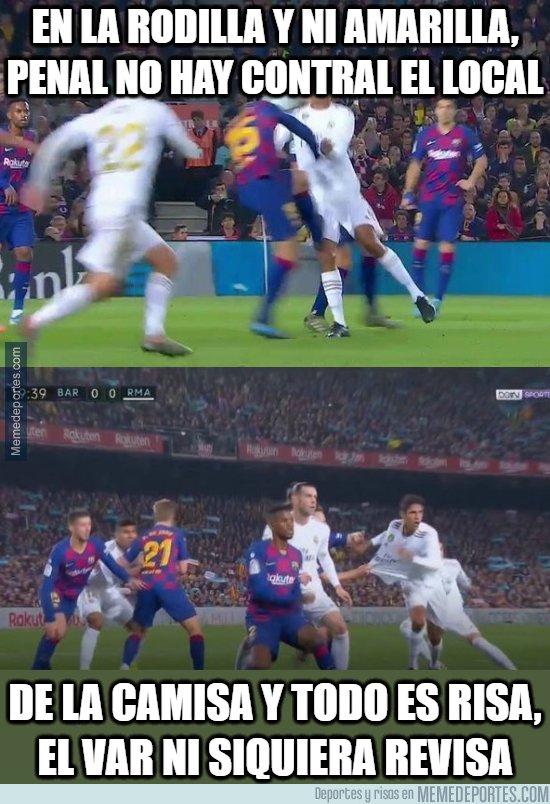 1093876 - El VAR y el árbitro 0,  Real Madrid 0