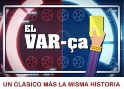 Enlace a Lamentable los árbitros en el Camp Nou