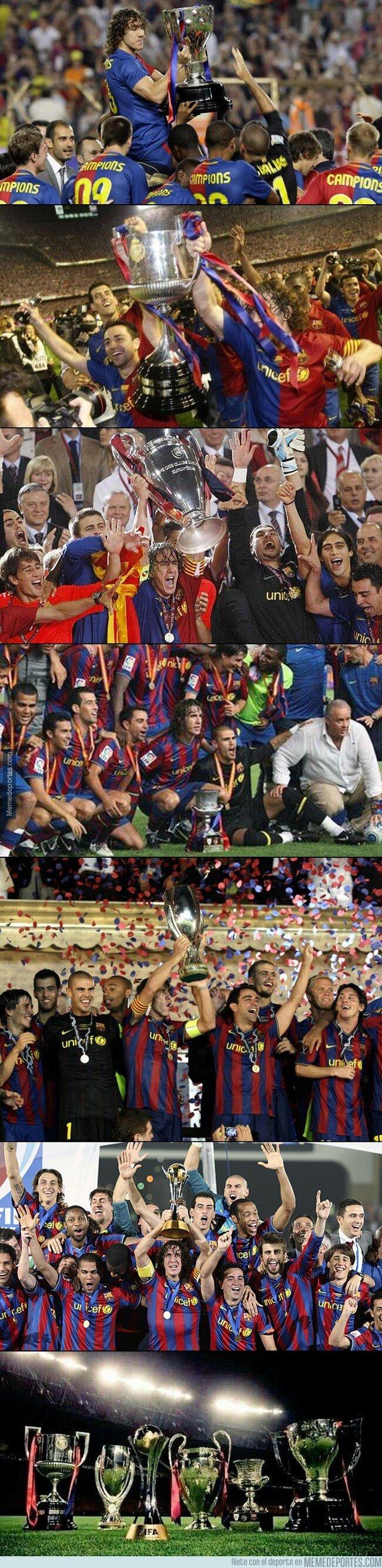1093982 - Hoy cumple 10 años el equipo que no podía dejar de ganar