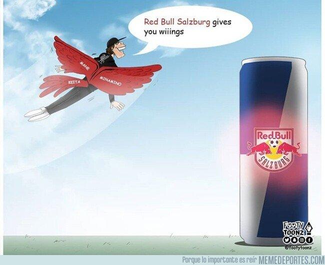 1094065 - Red Bull te da alas y el RB Salzburg se las da al Liverpool, por @footytoonz