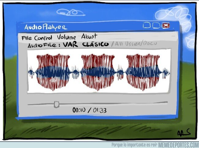 1094097 - Si analizasen el audio del VAR del Clásico, por @Yesnocse