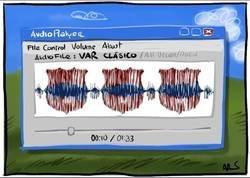 Enlace a Si analizasen el audio del VAR del Clásico, por @Yesnocse