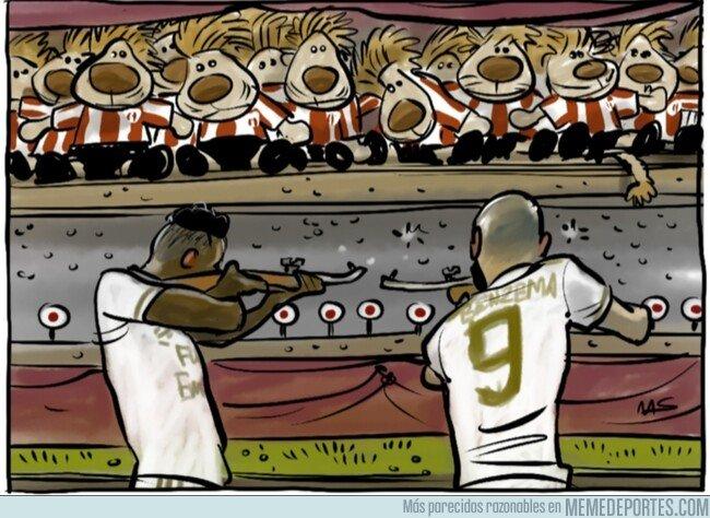 1094242 - Los delanteros del Madrid no afinan últimamente, por @yesnocse