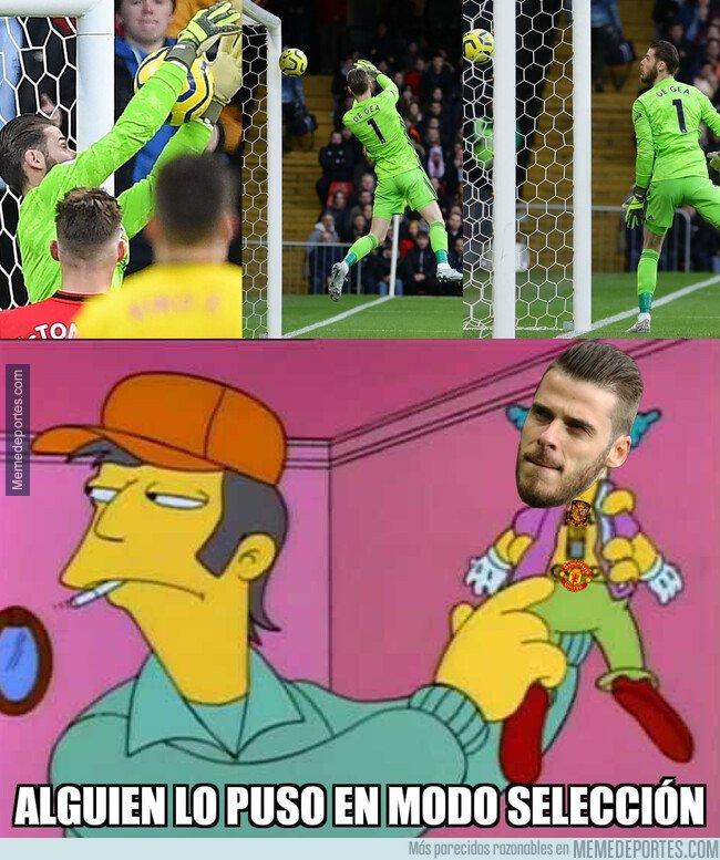 1094268 - De Gea falló estrepitosamente en el primer gol del Watford