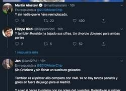 Enlace a El demoledor dato goleador del Real Madrid y Cristiano en 2019 con el que sus aficionados están literalmente llorando de rabia