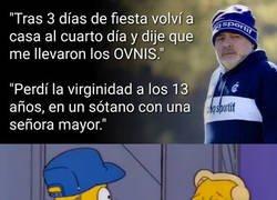 Enlace a Maradona siendo Maradona