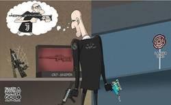 Enlace a Zidane echa en falta su antigua arma, por @footytoonz