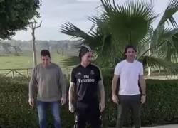 Enlace a Hoy en: Sergio Ramos haciendo el ridículo...