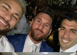 Enlace a La MSN se reunió de nuevo en el aniversario de bodas de Luis Suárez