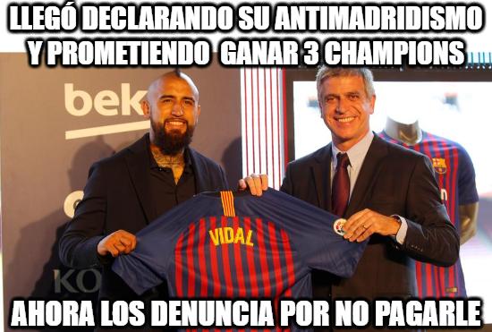 1094546 - El romance de Vidal y el Barcelona está terminando