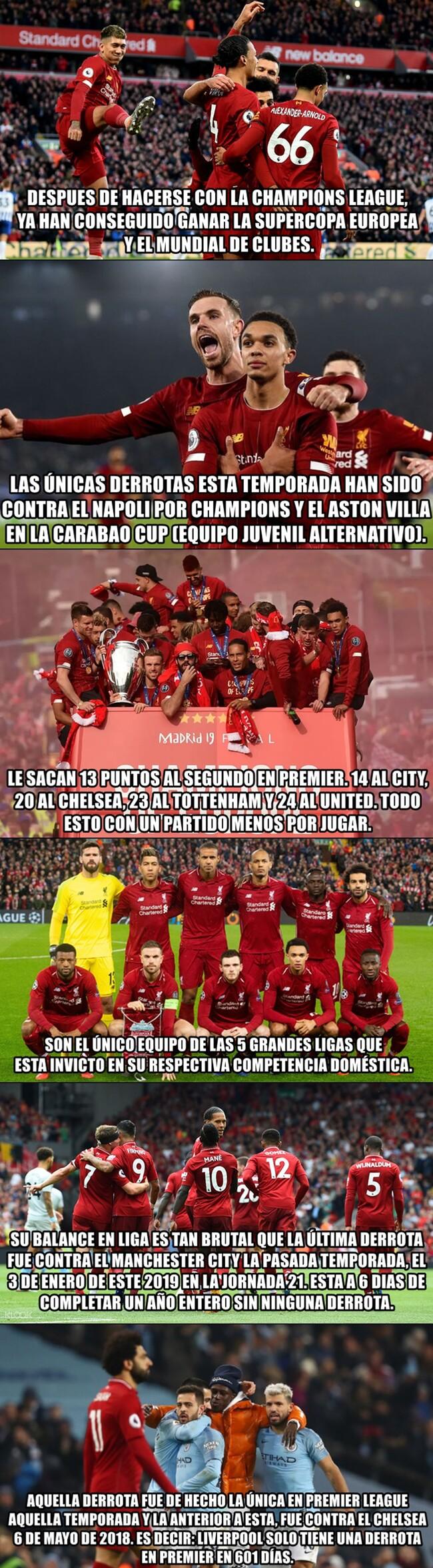 1094552 - La temporada del Liverpool, el mejor equipo del mundo